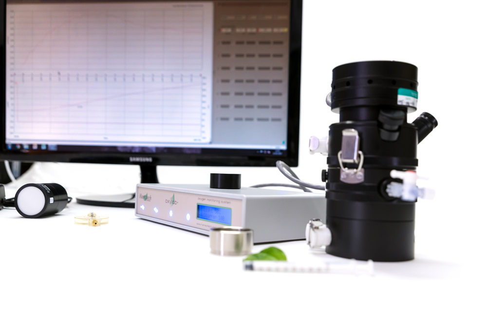 Leaflab 2+ System | Hansatech Instruments | Oxygen electrode and chlorophyll fluorescence measurement systems for cellular respiration and photosynthesis research