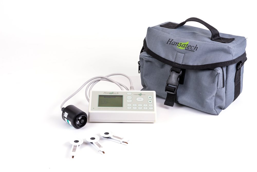 Handy PEA+ Continuous Excitation Chlorophyl Fluorimeter | Hansatech Instruments | Oxygen electrode and chlorophyll fluorescence measurement systems for cellular respiration and photosynthesis research
